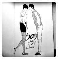 (500) Days of Summer illustration by Thomnommonster