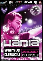 flyer Club TAO - DJ Vania by semaca2005