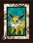 The Jolteon by Macuarrorro