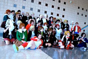 Photoshoots: Dangan Ronpa I by xXSnowFrostXx