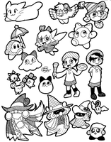 Kirby Gals by Chenanigans