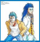 Grimmjow and Hyorinmaru. by NemesiHouseburns