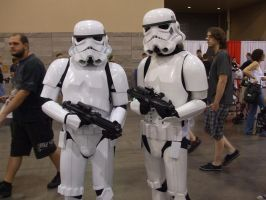 Stormtroopers (Comicon) by Gear-of-Ren