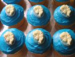 Frozen Elsa Birthday cupcakes! by AnimeGeer