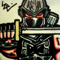 Ryu Hayabusa Post-It by dark-es-will