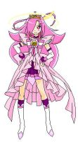 Smile Precure OC Cure Delight Princess Form by princess-peach1