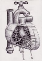 Mechanical Heart by oh-the-randomness