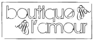 Logo: boutique l'amour by Jonacid