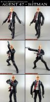 Custom Hitman Agent 47 figure by KyleRobinsonCustoms