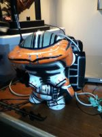 Commander Cody Munny iPod/Charger Dock by shamazindustries