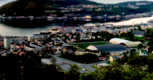 "Harstad - A ""toy"" town by jzky"
