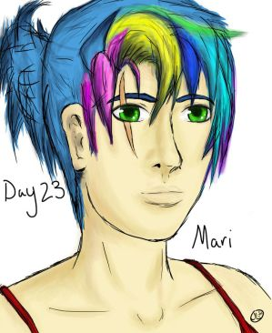 Day 23: Mari from Mortal Longings (A Mythology RP)