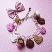 romantic bracelet by lemon-lovely