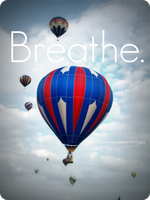 Breathe. by bammiee