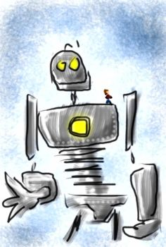 Iron Giant by curtisman