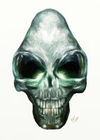 Crystal Skull by 5IC
