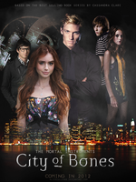 TMI: City of Bones poster 2.0 by AliceCullen88