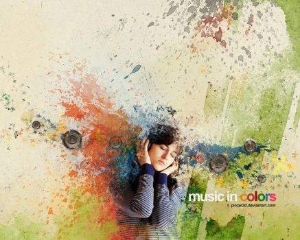 Music in colors by pincel3d