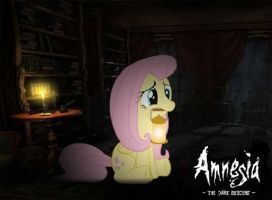 Amnesia the dark descent fluttershy by RATCHETSUPERFAN