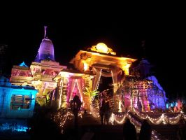 Dharmachakra Tirth Main Temple Light Effect 3 by sds49in