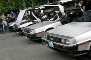 Delorean Lineup by indigohippie