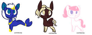Mlp adoptables OPEN 1/3 by Meltyegg