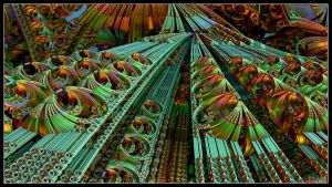 The Psychedelic Highway by Eccoton