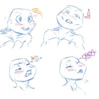 Jizzed in my shell sketches by KameChuu