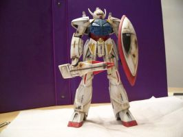 Turn A Gundam FIN 1 by RedKARASU