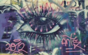 All Seeing Graffiti by DaraLC-artisty