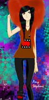 SceneMo Domo Girl by Xxx0Amy0xxX