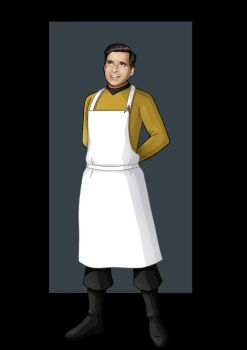 galley chief roddenberry by nightwing1975