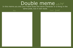 Double meme base by LaniusRios