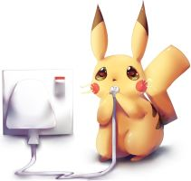 Pikachu used charge by dathie