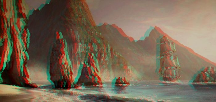 Assassins Creed Iv Anaglyph by Fan2Relief3D