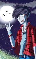 Marshall Lee by ThePrarieJinx