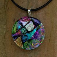 Exquisite Collage Fused Glass by FusedElegance
