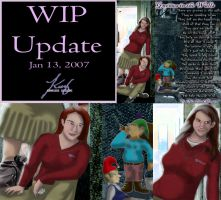 WIP GNITW by annora