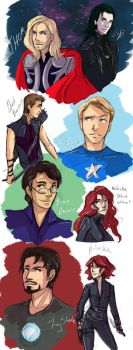 The Avengers by AbyssRiot