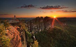 Saxony Switzerland by PawelUchorczak