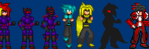 New sprites, Yay by IvanProwler