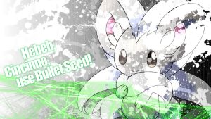 Cinccino Wallpaper by applejackles