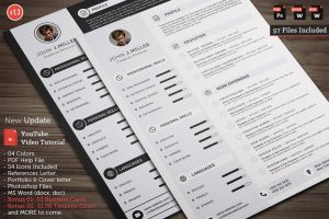 Clean CV Resume by khaledzz9
