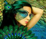 Peacock by babsartcreations