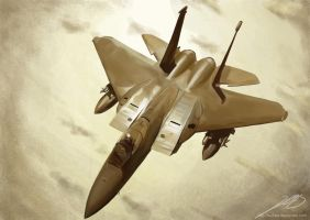 F15 Eagle by Luches