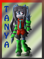 Tanya the Rabbit by MissLadyGothic