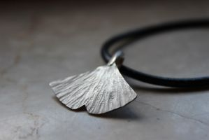 Ginko Necklace by Riemea