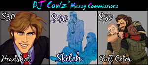 Commission Prices by DJCoulz