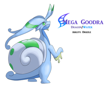 Mega Goodra by AlphaXXI