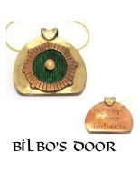 Bilbo's Door Pendant by Peaceofshine
